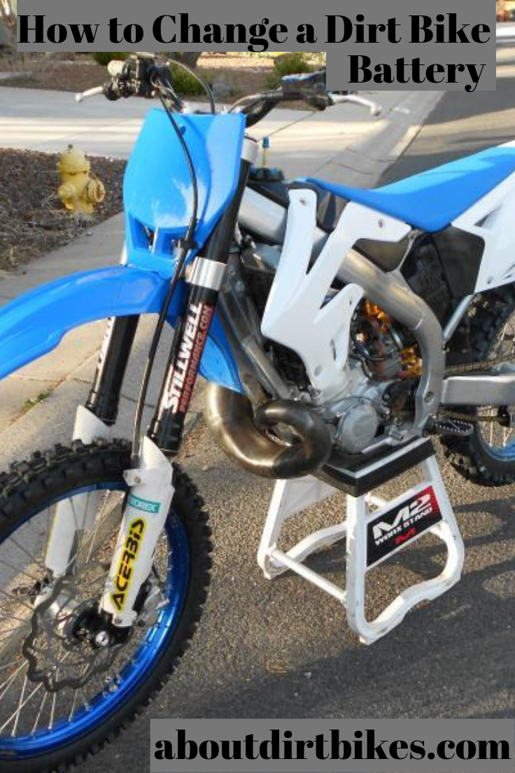 Learn How To Change A Dirt Bike Battery Dirt Bike Bike Engine Bike