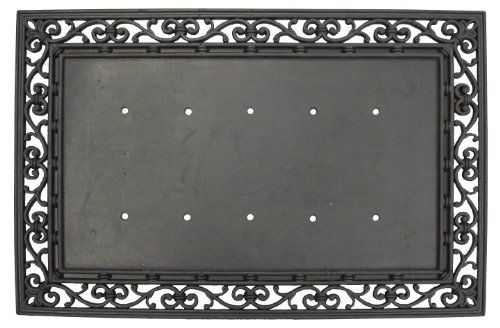 Rubber Traditional Welcome Mat Base (Discontinued By Manufacturer) Evergreen  Http://www