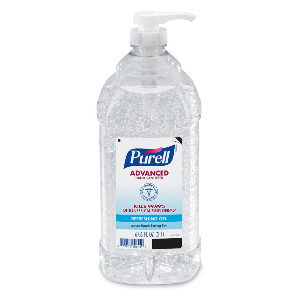 Purell Advanced Hand Sanitizer Gel Is The 1 Brand Of Instant Hand