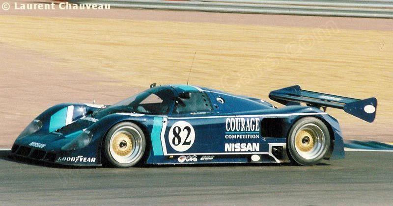 RSC Photo Gallery Le Mans 24 Hours 1990 Nissan R89C no