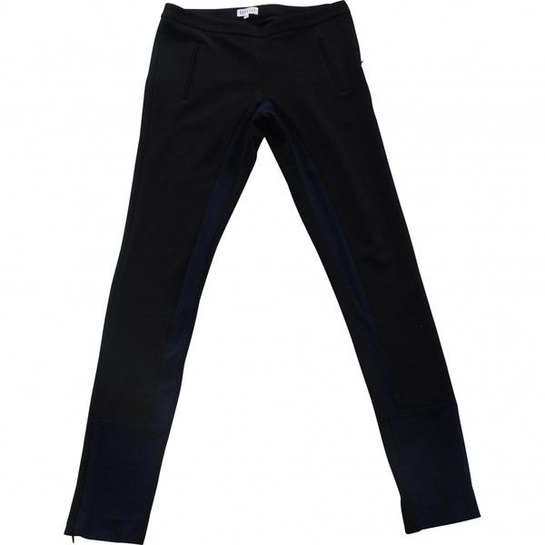 PANTS CLAUDIE PIERLOT ($189) ❤ liked on Polyvore featuring pants, bottoms, jeans, trousers, claudie pierlot, zip pants and zipper pants