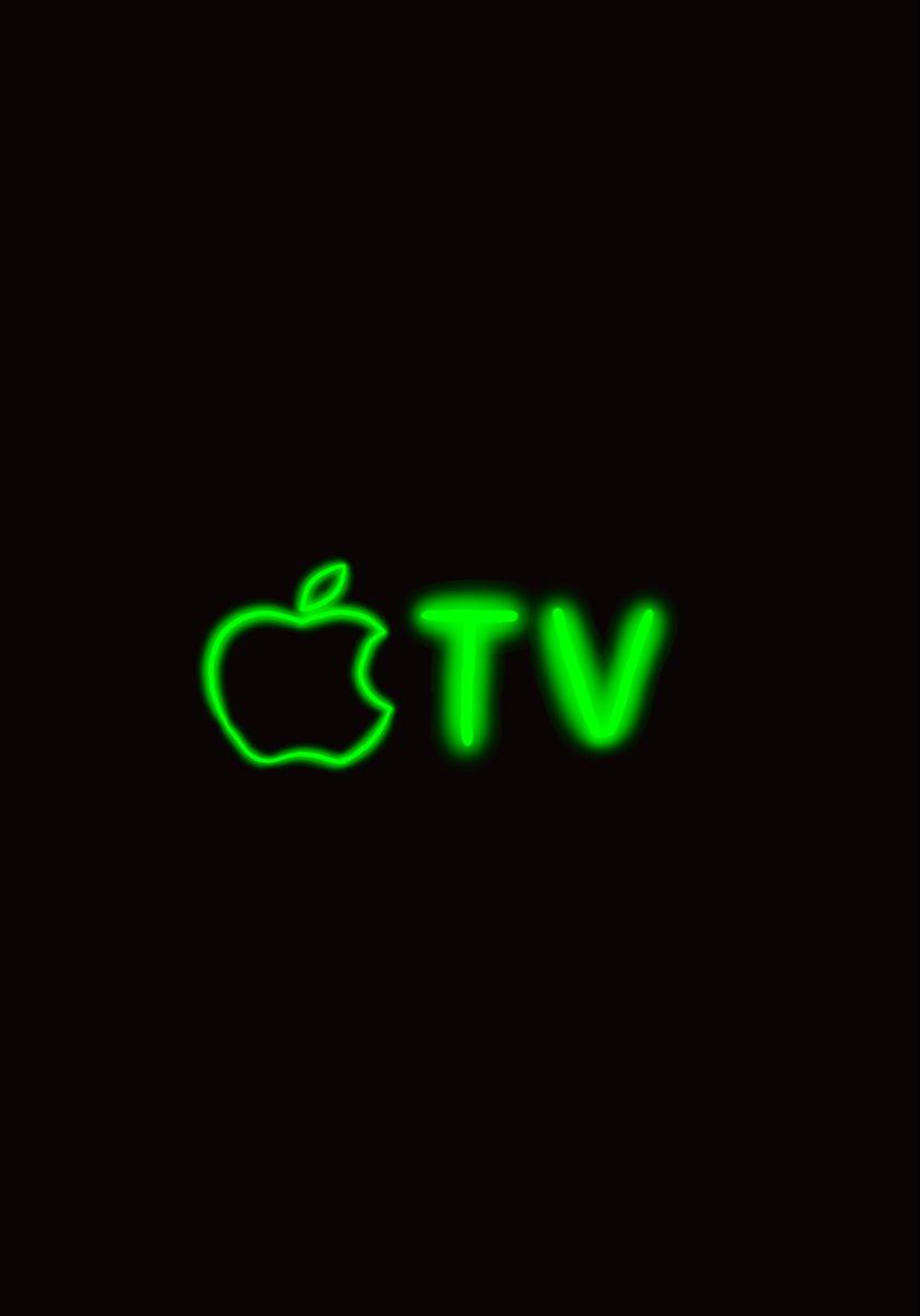 Apple Tv App Icon Design Neon App Icons App Icon