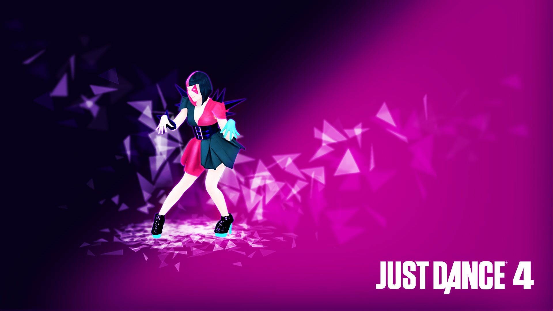 Just Dance 4 Disturbia Wallpaper With Images Just Dance Just