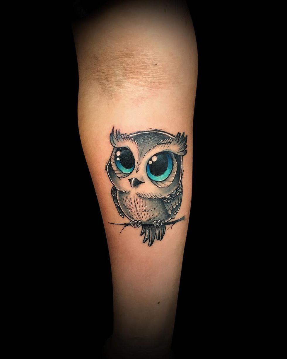 50 Of The Most Beautiful Owl Tattoo Designs And Their Meaning For The Nocturnal Animal In You Baby Owl Tattoos Owl Tattoo Design Owl Tattoo Small
