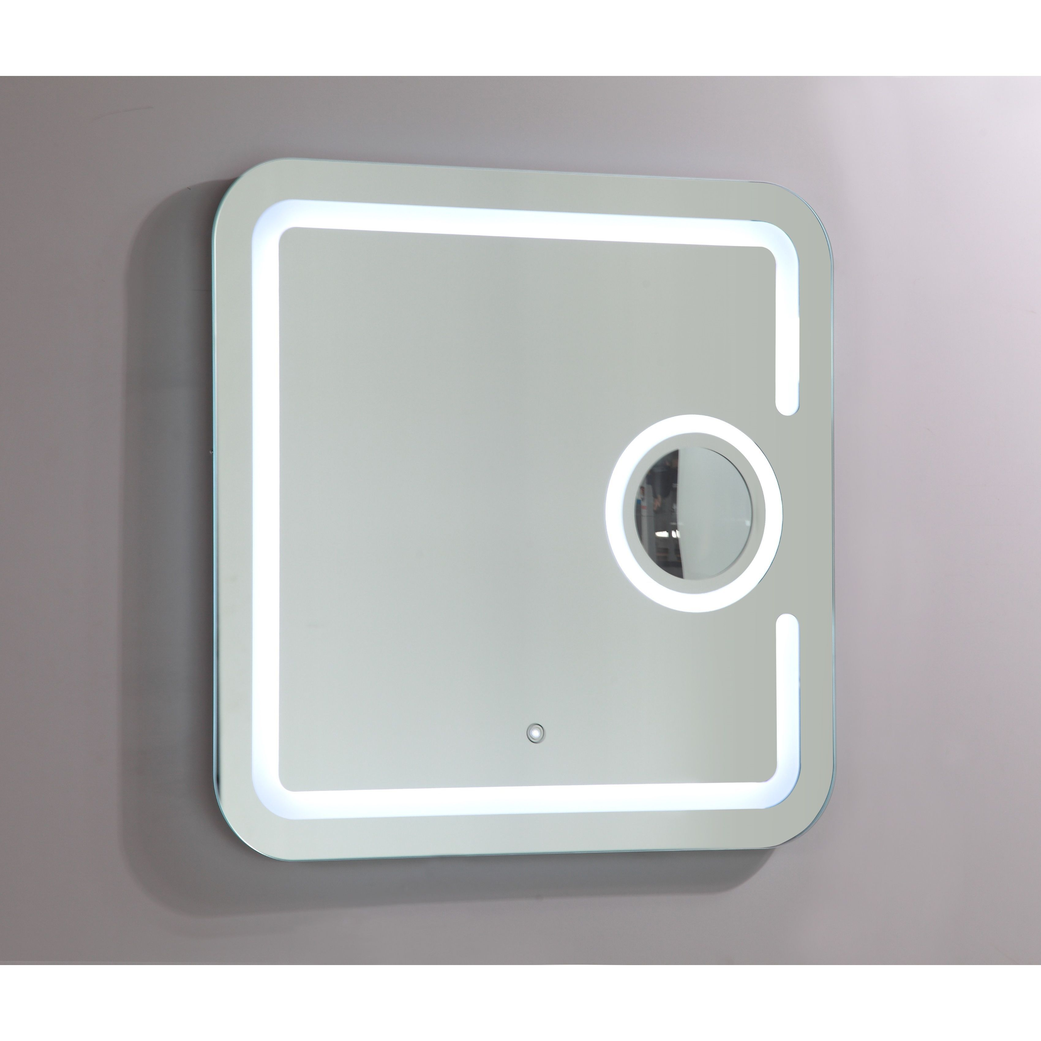 Vanity Art LED Lighted Mirror with Touch Sensor (31 inches high x 31 ...
