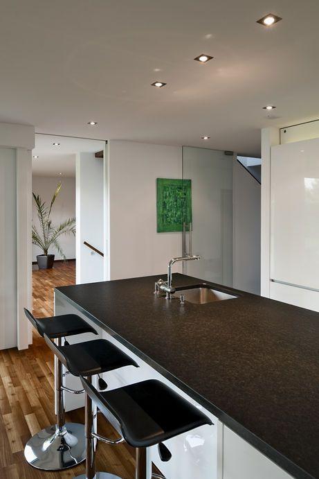Wohnhaus, Feldkirch, L Form, Moderne Architektur, Möbel, Innenarchitektur,
