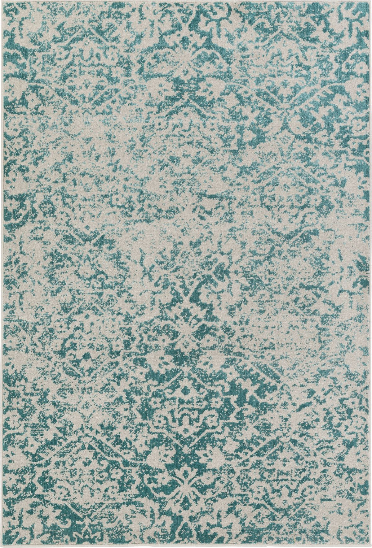 Sro 1019 Color Light Gray Teal Size 1 10 X 2 11 In 2020 Area Rugs Rugs Traditional Area Rugs