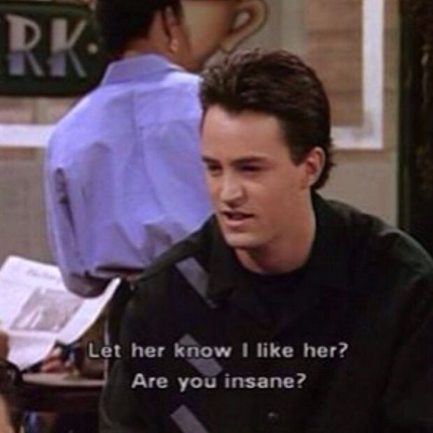 Chandler Friends tv show Funny quotes (avec images