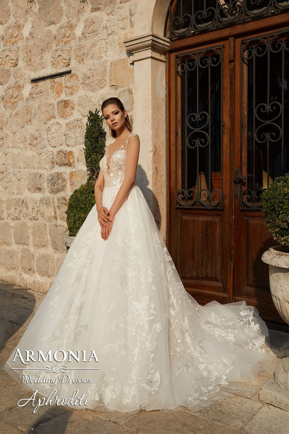 APHRODITE wedding dress by ARMONIA | Bridal Collection | Pinterest