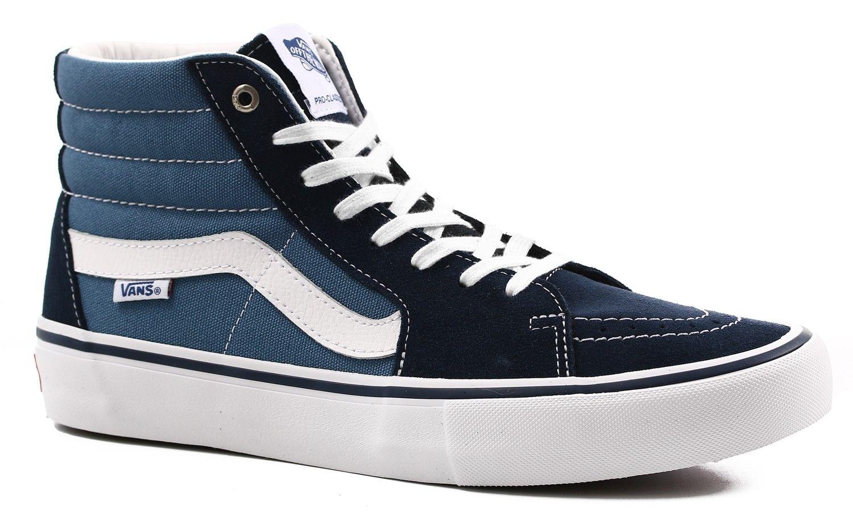 07e770d0fe Vans Sk8-Hi Pro Skate Shoes - navy stv navy