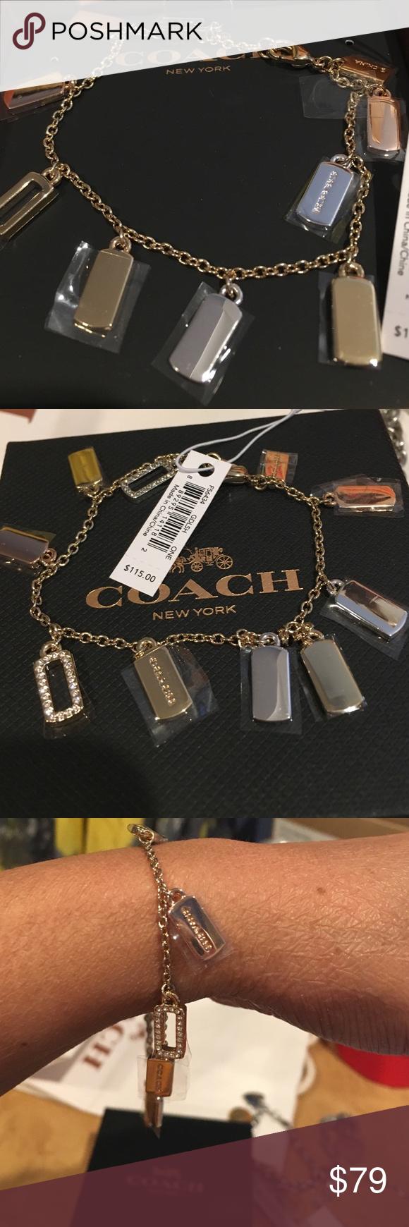 Coach bracelet Brand new bracelet with diamonds Coach Jewelry Bracelets