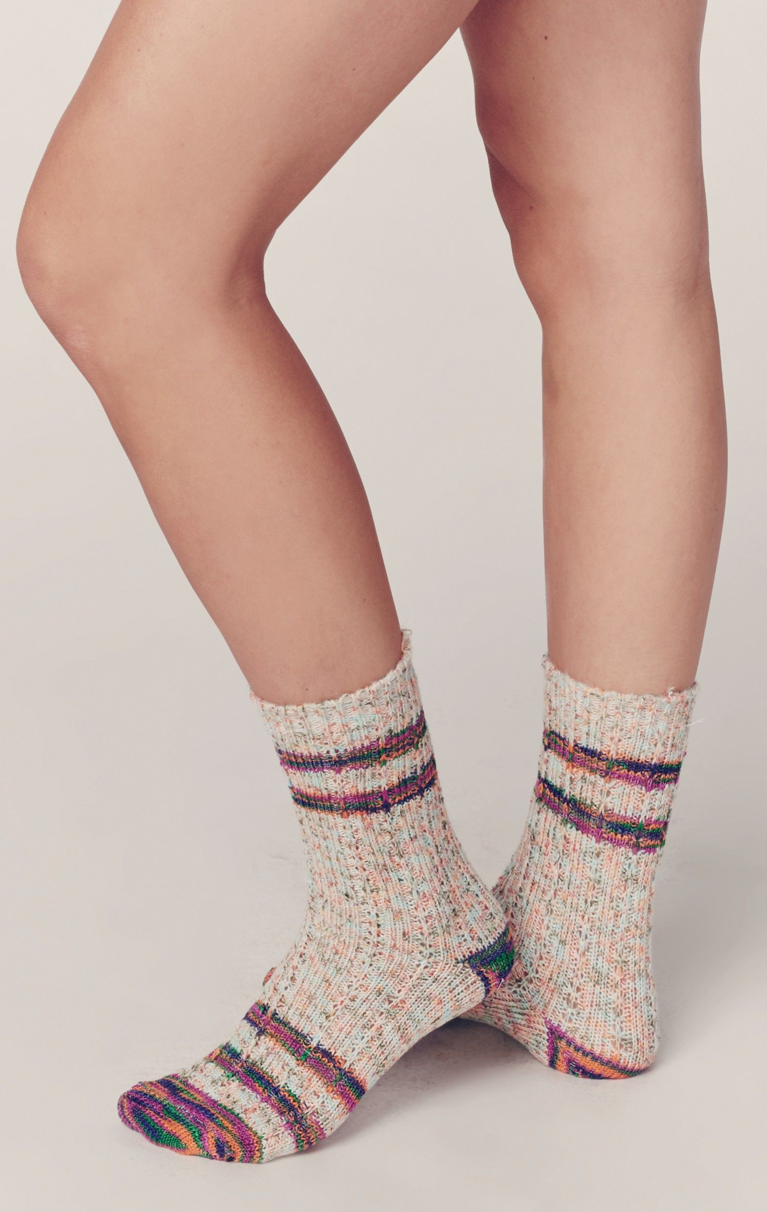 CVDGSAD Arale-Norimaki-Wallpapers A Vintage Soft Thick Knit Casual Crew Boot Socks