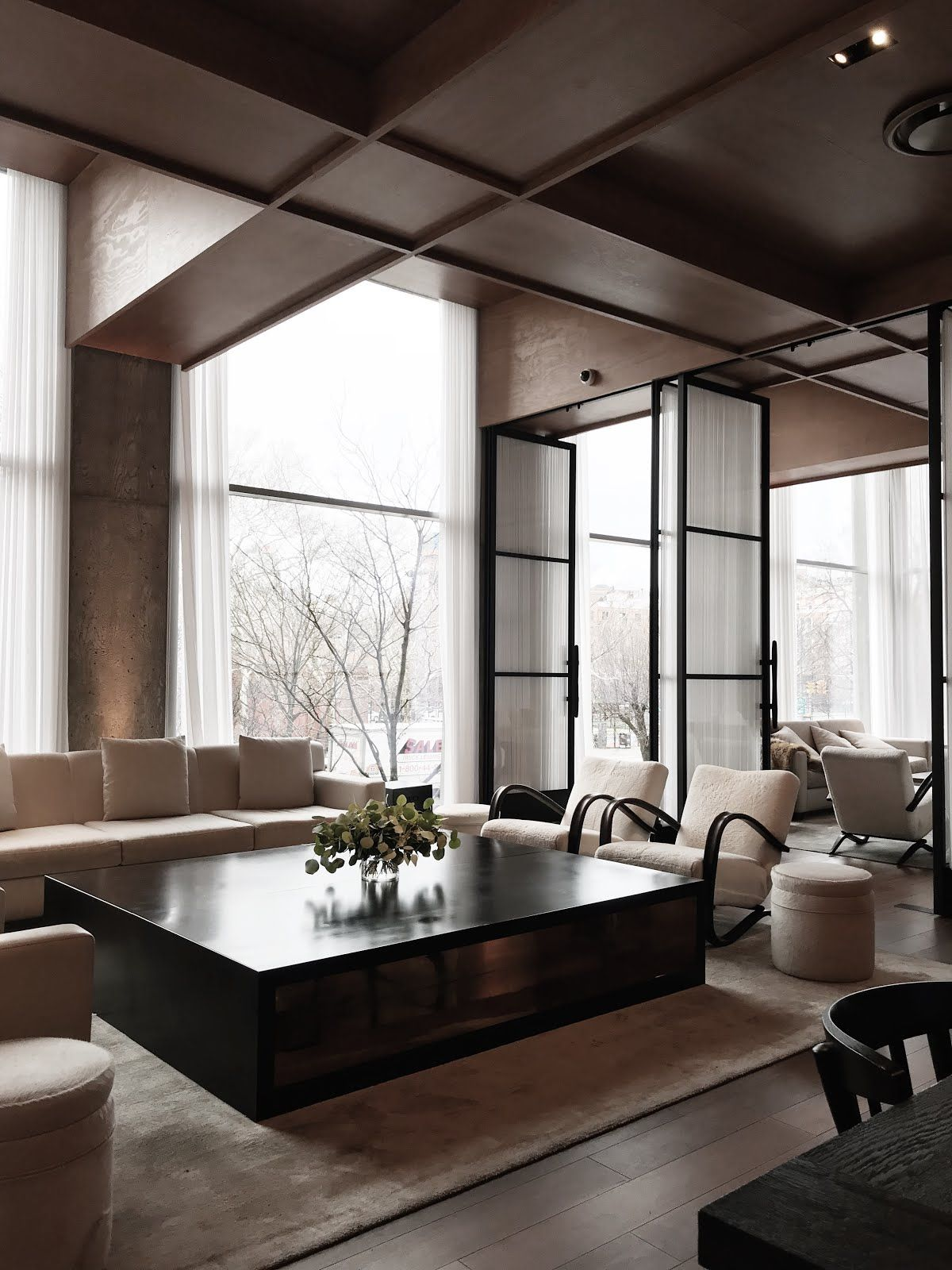 NYC Public Hotel   Craft and Couture   Luxus wohnzimmer, Wohn ...