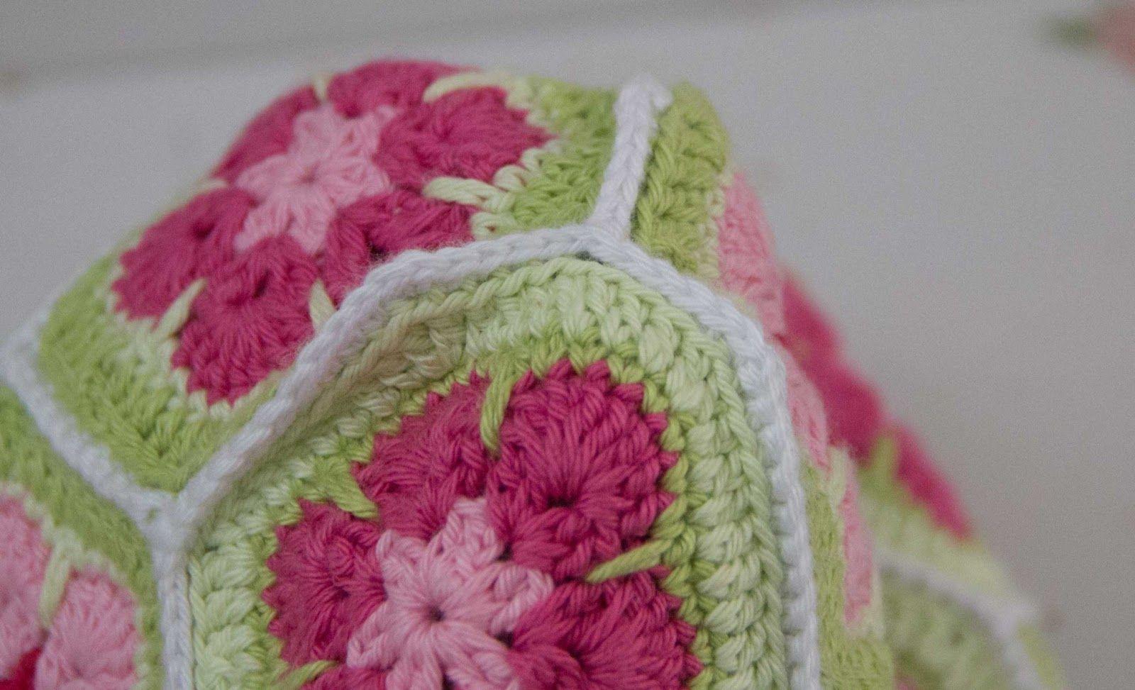 virka väska african flower gratis mönster | 코바늘 | Pinterest ...