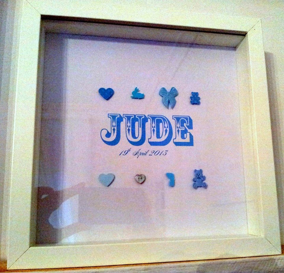 Personalised baby print £30.00