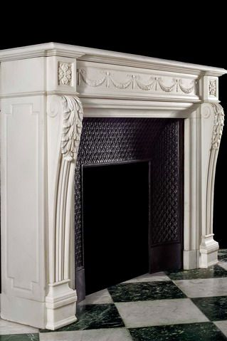antique marble french fireplace mantel new york los angeles rh pinterest com