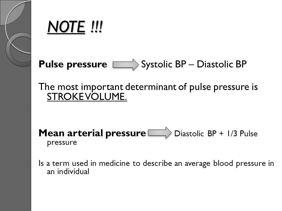 Pulse Pressure Google Search Pulse Pressure Mean Arterial