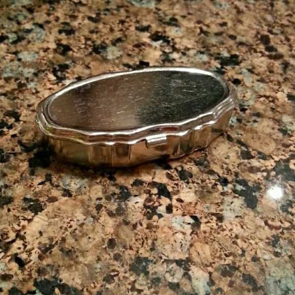 Vintage Silver Metal Box A one of a kind gift Small silver  box Vintage Accessories