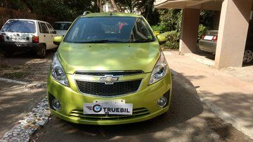 Front View Of Used 2013 Chevrolet Beat Lt Petrol Car 10304 With