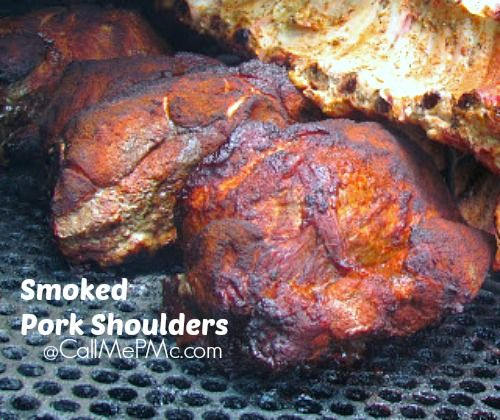Smokin' Butts (Smoked Pork Shoulders) +Encore dish - Call Me PMc