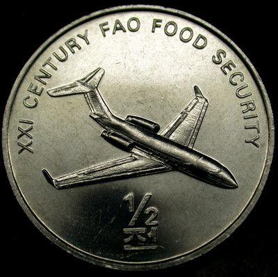 2002 Korea 1//2 Chon Jet Airliner