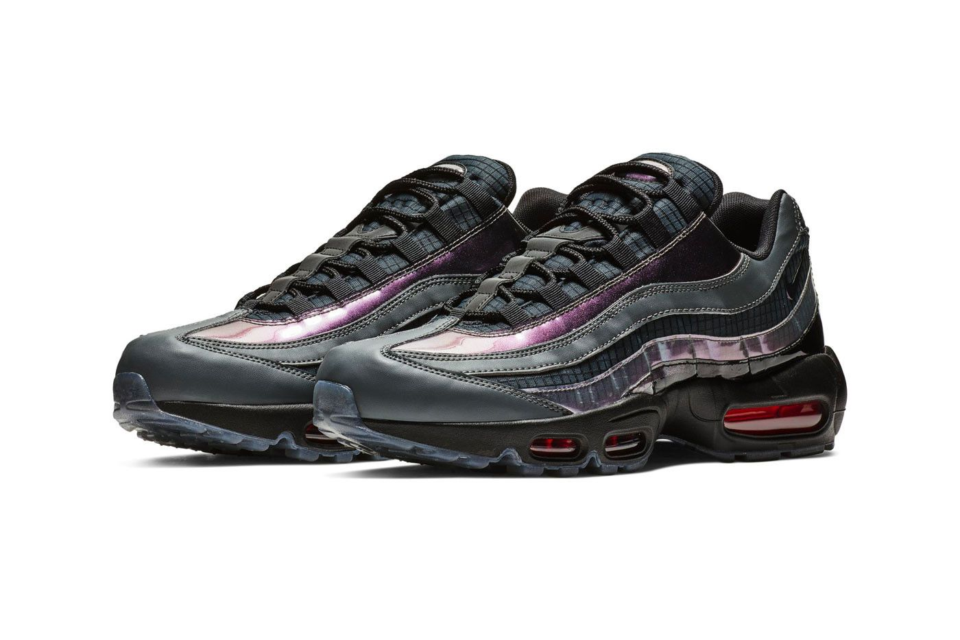 The Nike Air Max 95 Ember Glow Features A Subtle Iridescent Shine Nike Air Max Air Max 95 Nike Air Max 95