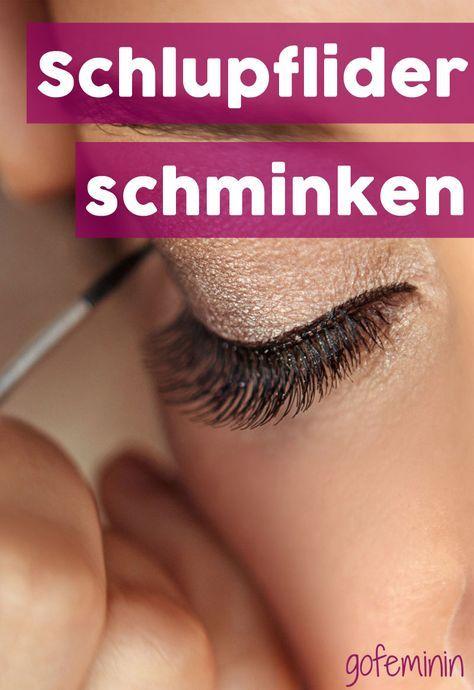 Maquillaje de párpados: así es como los ojos pequeños entran en sí mismos