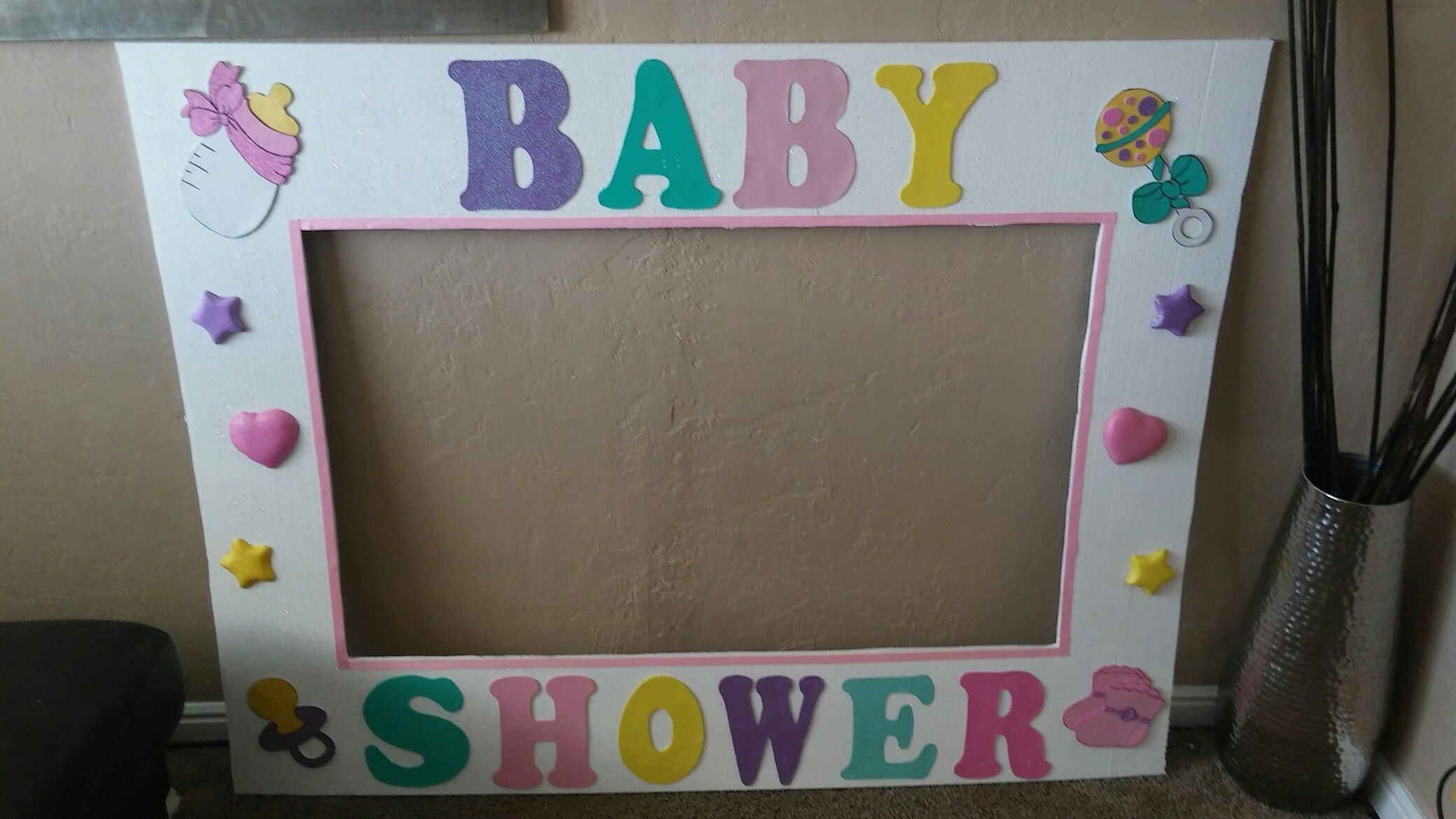 Marco Gigante Baby Shower Party Frame Baby Shower