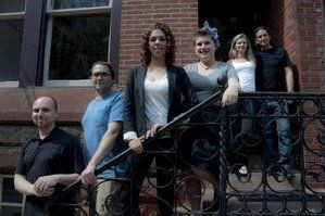 Ross Olchvary (left), Mark Mebus, Nicole Marquis, and Rachel Klein, all worked at Horizons for Kate Jacoby and Rich Landau (rear) and now own vegetarian restaurants.   How Horizons broadened Philly's vegan scene  http://www.philly.com/philly/food/20120628_How_Horizons_broadened_Philly_s_vegan_scene.html?nlid=4649295#