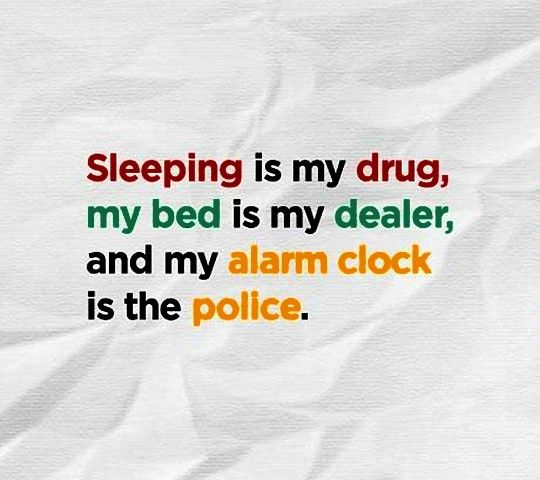 I Love My Bed yes i love my bed i love my sleep but unfortunately i couldn't