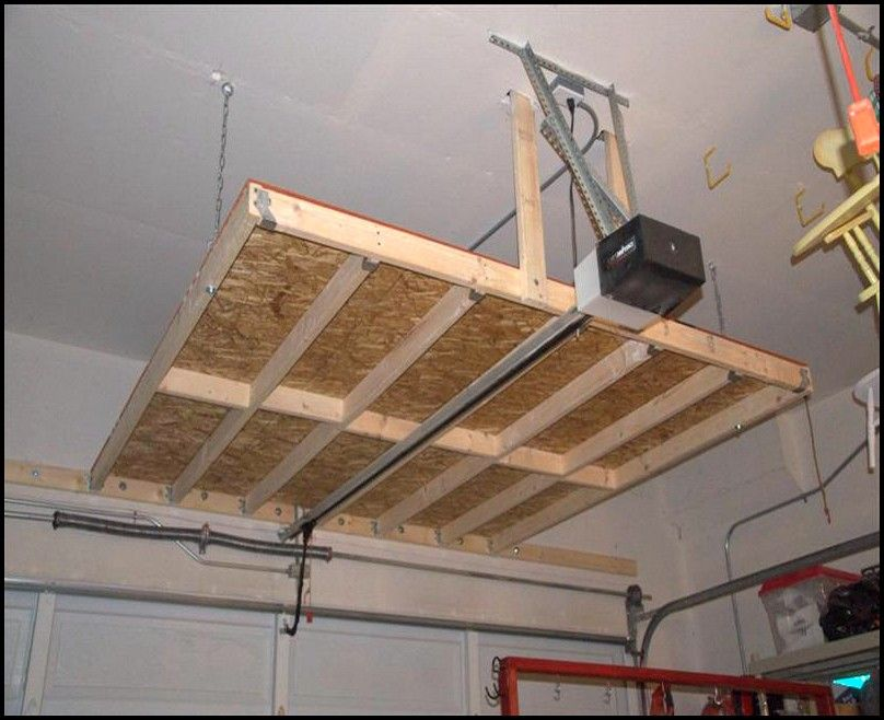 garage ceiling storage diy diy overhead garage storage on cool diy garage organization ideas 7 measure guide on garage organization id=75173