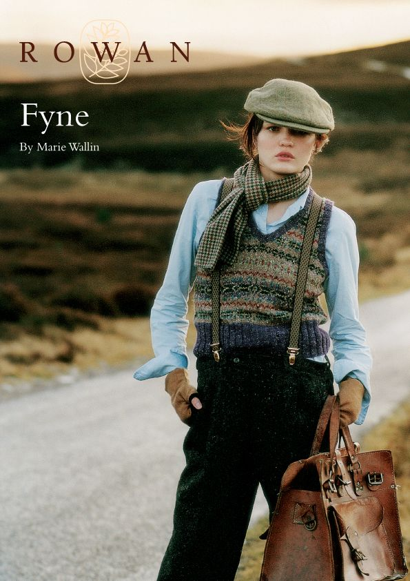 The Vintage Pattern Files: 1940's Knitting - Fyne Womens Fair Isle ...