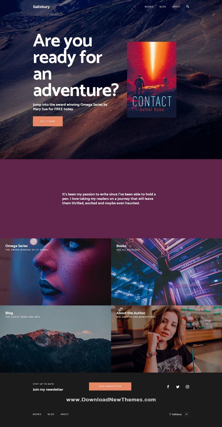 Salisbury Content Marketing Business Wordpress Theme Business Wordpress Themes Content Marketing Business Marketing