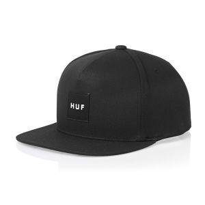 Huf Caps - Huf Box Logo Snapback - Black  942c042e2bf