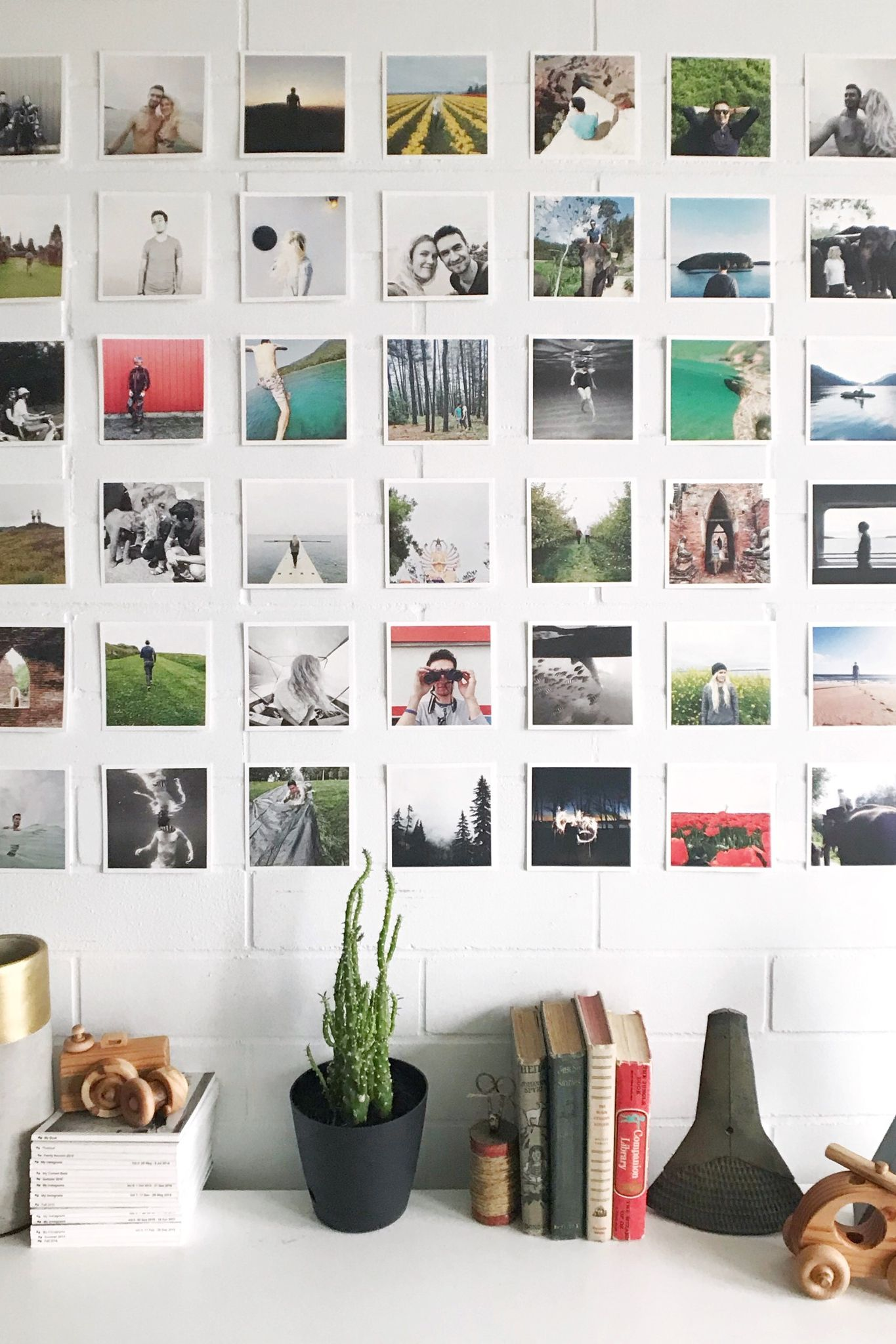 Square Photo Prints Print Instagram Photos Square Photo Prints Photo Wall Display Print Instagram Photos