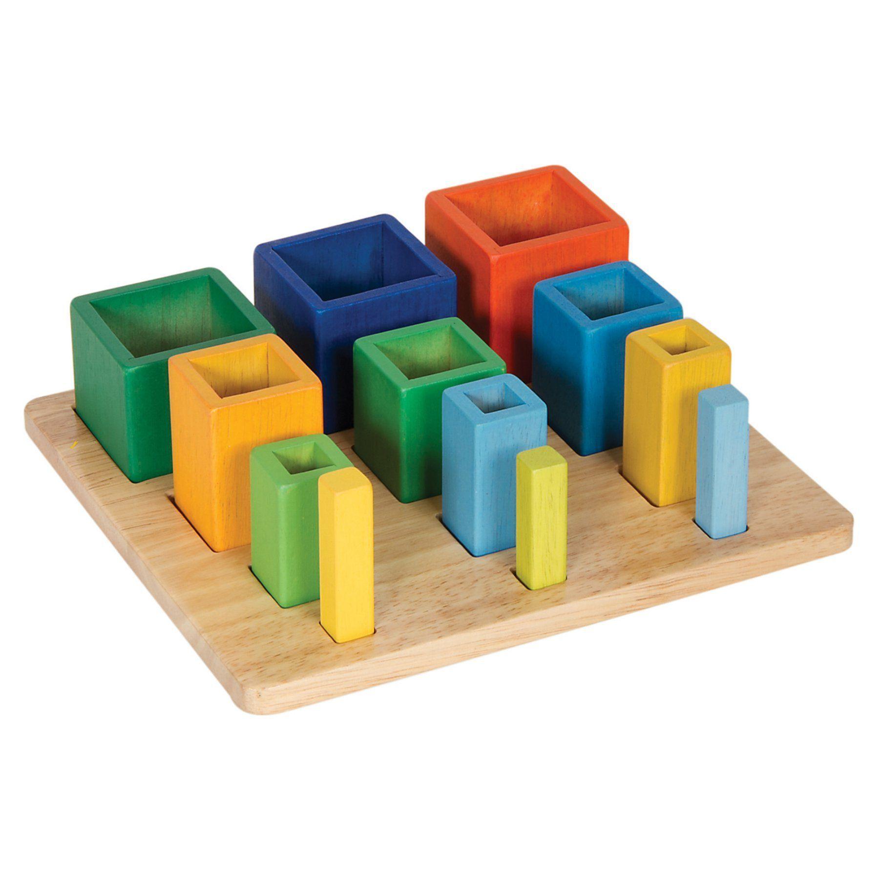 Guidecraft Nesting Sort Stack Cubes - G6728