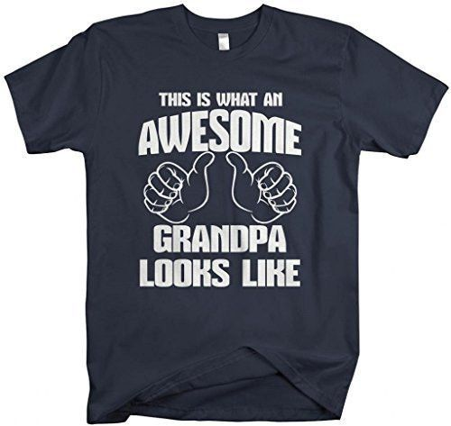d03f3275 Shirts By Sarah Men's Awesome Grandpa T-Shirt Father's Day Shirts ...