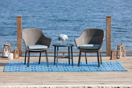 home trends outdoor furniture. Hometrends 3 Piece Wicker Chat Set, $198 · FurnitureOutdoor Home Trends Outdoor Furniture P