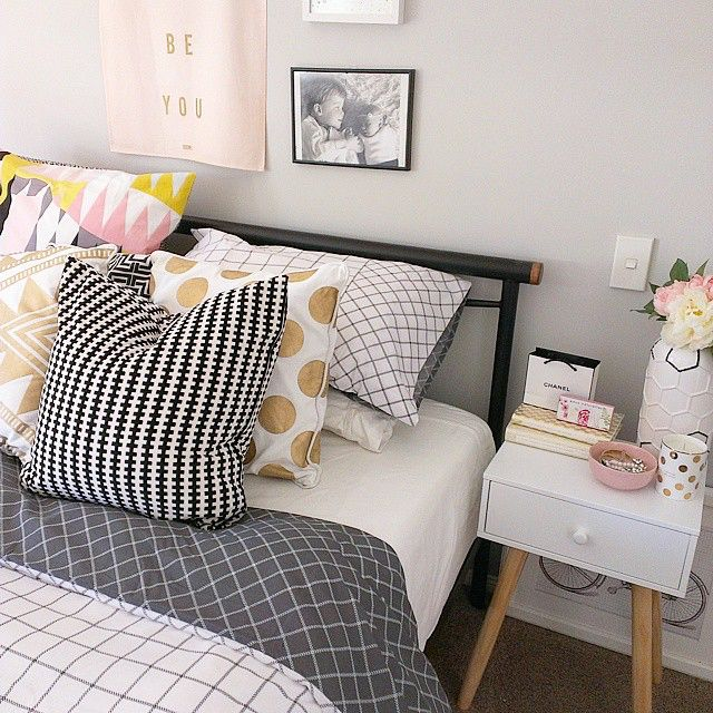 A peek at others kmart style quilt cover bedrooms and room for Bedroom ideas kmart