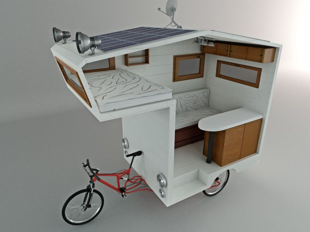 3  Bicycle Campers | Most Incredible Mobile Homes