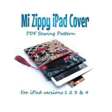 Mi Zippy iPad cover. Tablet Case   \
