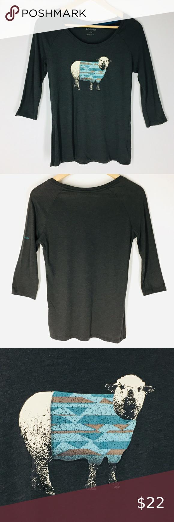 NWOT Columbia Sheep in Sweater Shirt