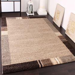 impressionnant tapis salon beige marron | Décoration ...