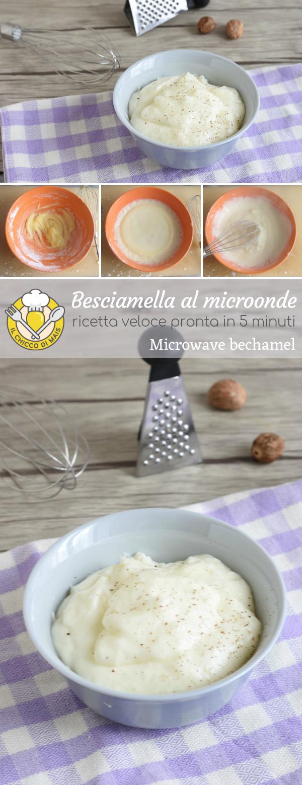 Ricetta Besciamella Nel Microonde.Besciamella Al Microonde Ricette Ricette Per Microonde Idee Alimentari