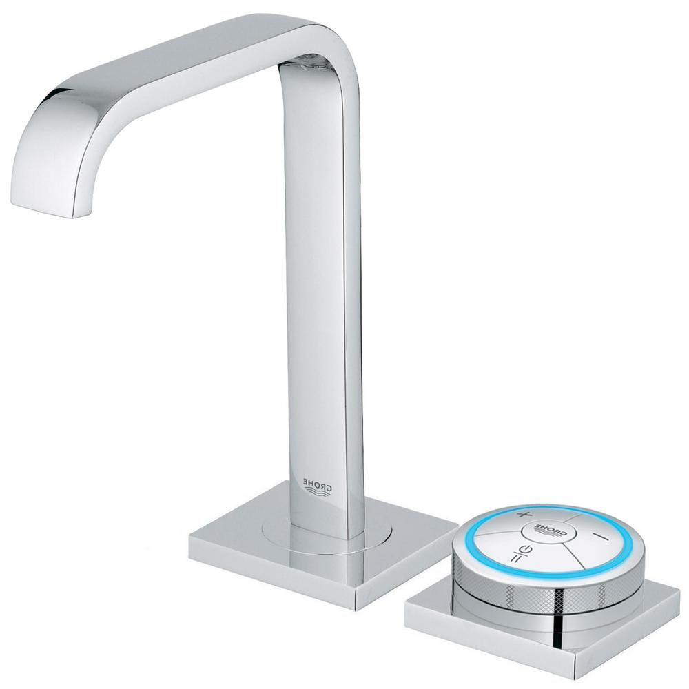 GROHE Allure F-Digital AC Powered Single Hole Touchless Bathroom ...
