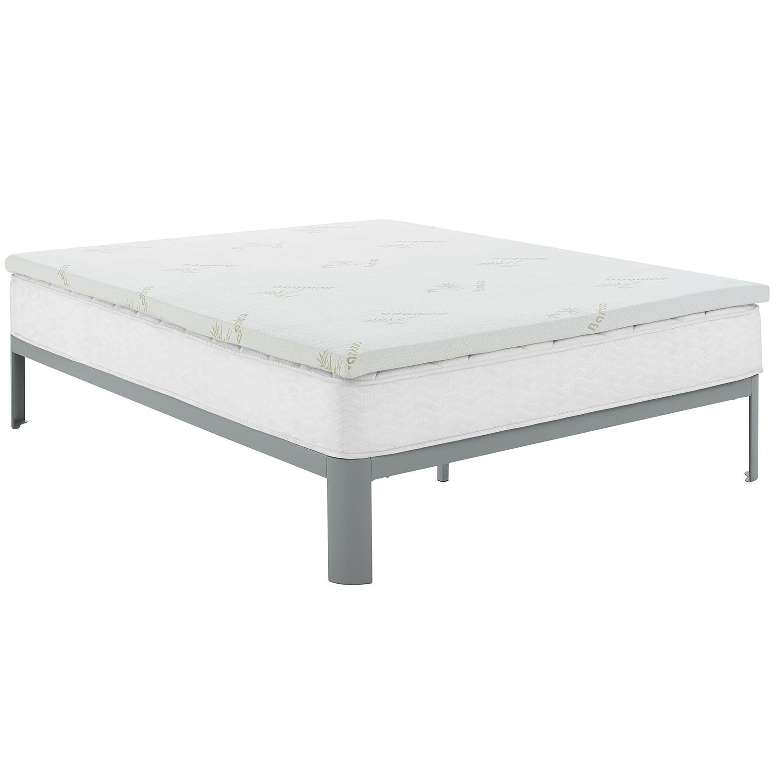 relax full 2 gel memory foam mattress topper