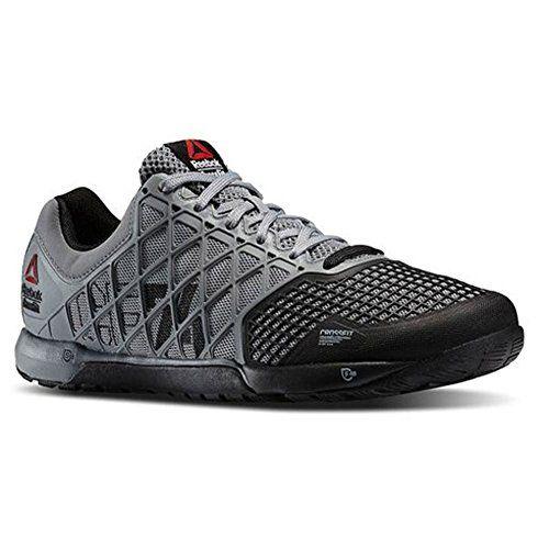 Reebok Men's CrossFit Nano 4.0 Gray-Black Size 10 Reebok http://smile