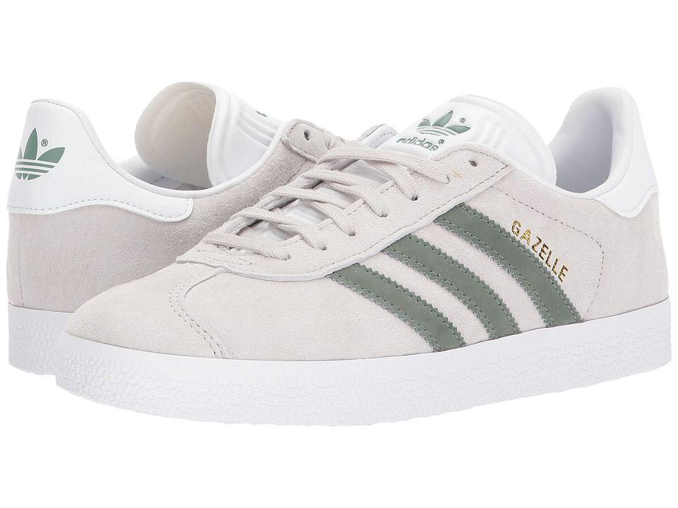 adidas Originals Gazelle Women's Tennis Shoes Pearl Grey