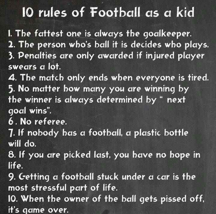 Football Rules For Kids
