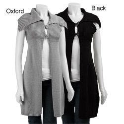 @Overstock - Chic and casual, Bask's tunic-style vest adds versatility and style to your closetWomen's clothing boasts fashionable knitting detail on topSleeveless sweater is the perfect playful addition to your wardrobehttp://www.overstock.com/Clothing-Shoes/Bask-Womens-Tunic-style-Sweater-Vest/3378913/product.html?CID=214117 $59.99